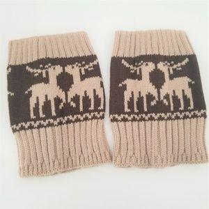 Women Winter Crochet Knitted Boot Cuffs